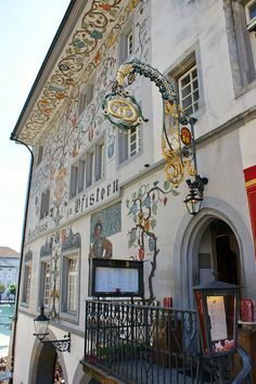 Lucerne architecture, Lucerne, Switzerland.  Photo: KarlGercens.com, via Flickr