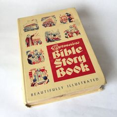 Bible Story Book Bible Stories Book by RetroResaleSanDiego on Etsy #GotVintage #Vintage #Books