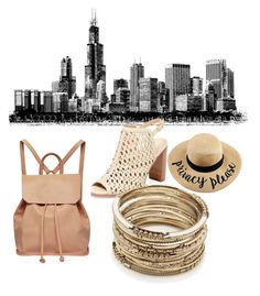 """""""A day in the City"""" by jjk3319 ❤ liked on Polyvore featuring art"""