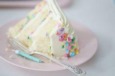 CONFETTI VANILLA CREAM CAKE   Passion 4 baking :::GET INSPIRED:::