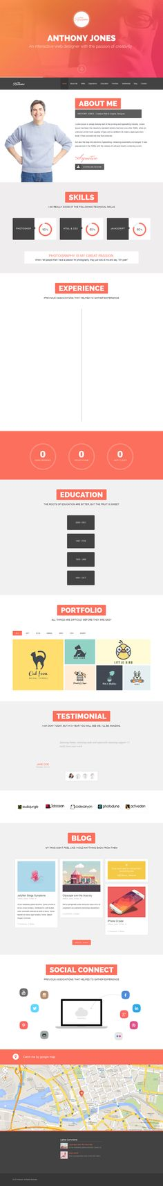 54 best CV originaux / Uncommon graphic resumes images on Pinterest ...