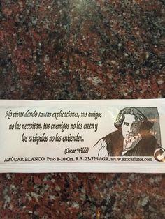 Un café conOscar Wilde