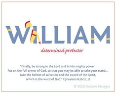 Customizable WILLIAM Name Art Canvas with Name by DeclareDesigns, $125.00