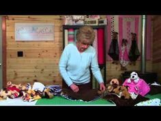 How to Sew a Critter Cuddle Baby Blanket - Minky and Beanie Babies - YouTube