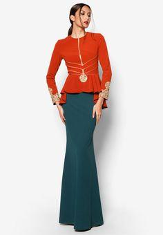 Jovian Mandagie for Zalora ArtDeco Annmarie Dress | ZALORA 2015
