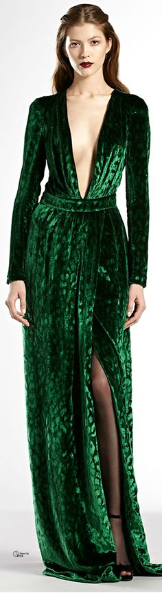 the fabric...........Gucci Velvet Gown | The House of Beccaria~