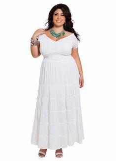 daa01ed2c23 Ashley Stewart Women s Plus Size Ruched Peasant Dress  37.13 Ashley Stewart
