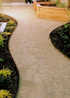 #best_landscape_design_service #lawn_experts_near_me $4.00 Price per Ft. Your choice of green Or brown steel edging. Garden Paths, Garden Landscaping, Landscaping Ideas, Steel Edging, Steel Landscape Edging, Landscape Maintenance, Yard Maintenance, Front Yard Walkway, Concrete Edging