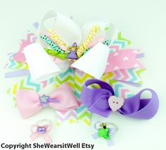 #Fairytale Princess Hair Bow for Girl Gift Set by SheWearsitWell, $29.00