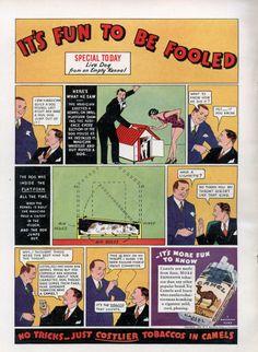 Camel Tobacco Ad