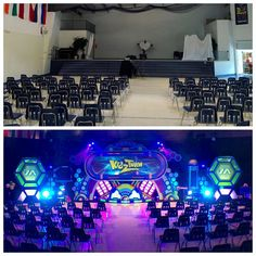 """""""#KidzTurnTakeover  Great week, sharing the Gospel with the families around #InwoodWV.  here's a before/after shot of our invasion at #InwoodAssembly…"""""""