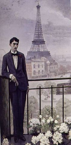 Jean COCTEAU à l'époque de la grande rue,  1912  by Romaine BROOKS