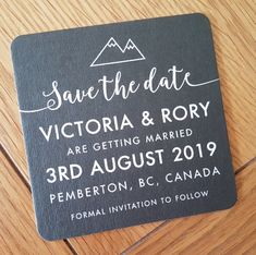 Save the date beer mat coaster. Any colour or design Beer Mats, Drink Coasters, Facebook Sign Up, Save The Date, Dating, French, Colour, Wedding, Ideas