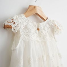 New Flower Girl Dress Princess Vintage Special Occasion Party Wedding Lace