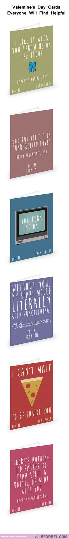 6 Valentine's Day Cards For Single People…