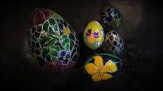 Pomysły plastyczne dla każdego, DiY - Joanna Wajdenfeld: Pisanki ozdabiane witrażem