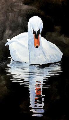 "Daily+Paintworks+-+""White+beauty""+-+Original+Fine+Art+for+Sale+-+©+Yasemin+Arkun"