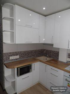 Farmhouse Style Kitchen, Modern Farmhouse Kitchens, Country Kitchen, Modern Grey Kitchen, Grey Kitchen Designs, White Kitchen Cabinets, Kitchen Walls, Kitchen Sinks, Cuisines Design