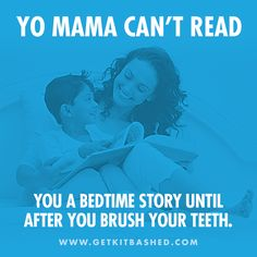 """YoMama Read  In honor of Mother's Day, we decided to create some nice """"Yo Mama"""" jokes.   Read our full blog post here:  http://getkitbashed.com/yo-mamas-so/  Share it and remember to tag yo mama!"""