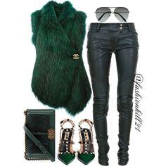 A fashion look from February 2016 by fashionkill21 featuring Barbara Bui, Balmain, Valentino, Chanel, Victoria Beckham, women's clothing, women, female, woman,...