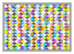 "Saatchi Art Artist Andrew Reach; Printmaking, ""Quadrans Circuli No 7 - Edition of 3"" #art"