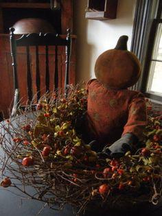 love thsi idea, I have a cute pumpkin doll this is a good idea