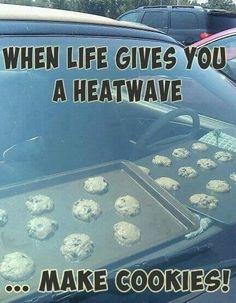 Heatwave cookies