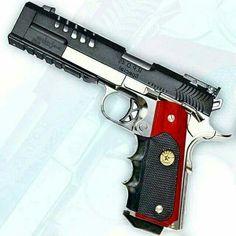 Custom, Pistol, Guns, Weapons, Self Defense Weapons Guns, Guns And Ammo, Self Defense Weapons, Survival Weapons, Airsoft Guns, Custom Guns, Custom 1911 Pistol, Fire Powers, Cool Guns