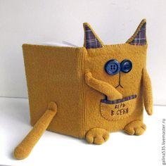 Купить Ежедневник Кот-верь в себя - песочный, кот, котик, киса, ежедневник, вера, верь в себя, теплый