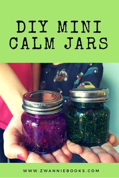 Going crazy in the school holidays? Need a calming activity? These mini calm jars are fun and inexpensive to make and the kids will love staring at them.and you'll love their calming effect. Fun Educational Games, Calming Activities, Make And Sell, How To Make, School Holidays, Crafts To Sell, Mason Jars, How To Apply, Mini