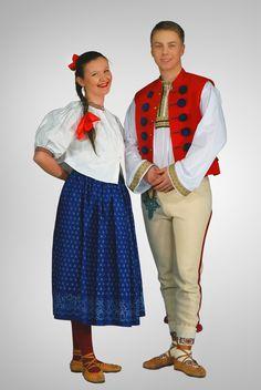 Strój górali śląskich-costume of montaineers from silesia