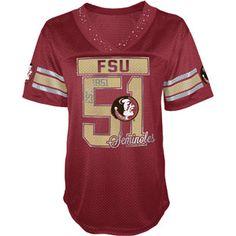 Russell - Florida State Seminoles, Ladies V-Neck Tunic T-Shirt