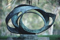 Photograph:An abstract sculpture by Barbara Hepworth is on display at a sculpture garden at the University of California, Los Angeles. Sculpture Projects, Art Sculpture, Sculpture Garden, Barbara Hepworth, Contemporary Sculpture, Outdoor Art, Tribal Art, Art Photography, Abstract Art