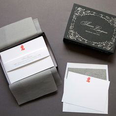 classic stationery set from sesame letterpress