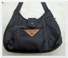 CREA by THEA: LEATHER-LOOK TAS