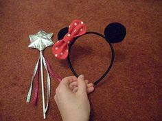 CROCHET MINNIE MOUSE HEAD BAND