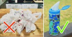 15 ideias para guardar sacolas plásticas de forma organizada