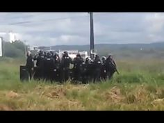 População aplaude choque com a retiradas de vagabundos do MST na Br 101 ...