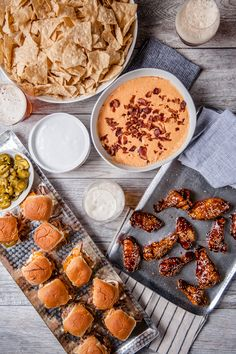 We've partnered with Jackie Dodd, founder of the Beeroness, to create a delicious game day menu that will be a win, even if your team loses.