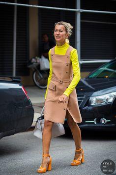 New York Fashion Week SS 2016 Street Style: Natalie Joos