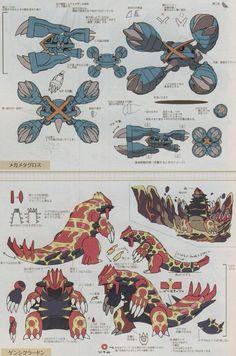Mega Metagross, Primal Groudon