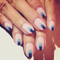 Gradient Stripe Mani + Tutorial; - Katrinas Nail Blog