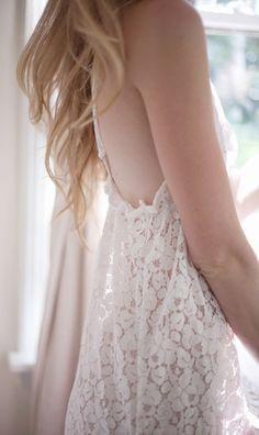 Scarlett Lace Nightie in Ivory - Love Ophelia Lovelovelovelovelove