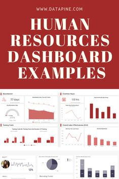 HR dashboards help the human resources department to improve recruiting processes, optimize the workplace management as well as to monitor and enhance the overall employee performance. Human Resources Quotes, Human Resources Career, Time Management Tips, Business Management, Resource Management, Hr Humor, Microsoft Excel, Dashboard Examples, Employee Engagement
