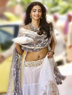 Sonam Kapoor in the movie Aisha, wearing her infamous lehenga.