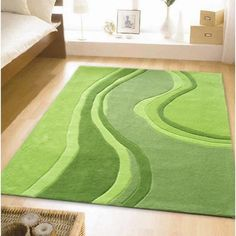 Perfect Lime Green Rug