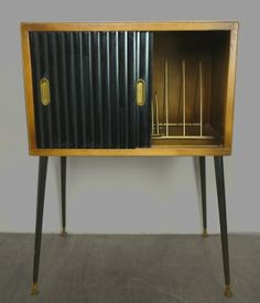 Fabulous 1950's record cabinet