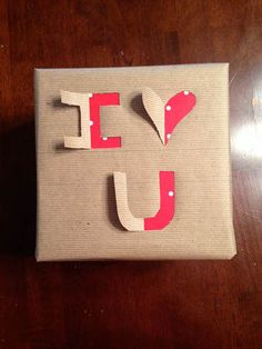 DIY 3-D gift wrap. #DIY #giftwrap #howto #tutorial #wrappingpaper #gift #valentinesday #birthday #christmas #packaging #iloveyou #iheartyou #thriftyhabit ThriftyHabit.com