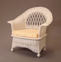 how to dollhouse wicker furniture | ... Wicker Furniture by The Petticoat Porch, Handcrafted artisan dollhouse