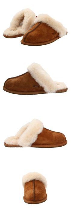 3b1c951db6a Slippers 11632  Women Ugg Australia Scuffette Slipper 5661 Chestnut 100%  Authentic Brand New -